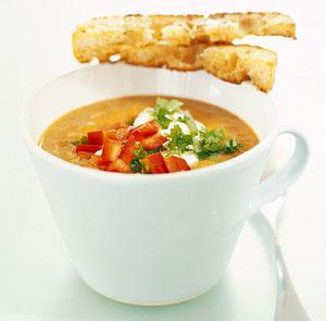 currydoftande linssoppa