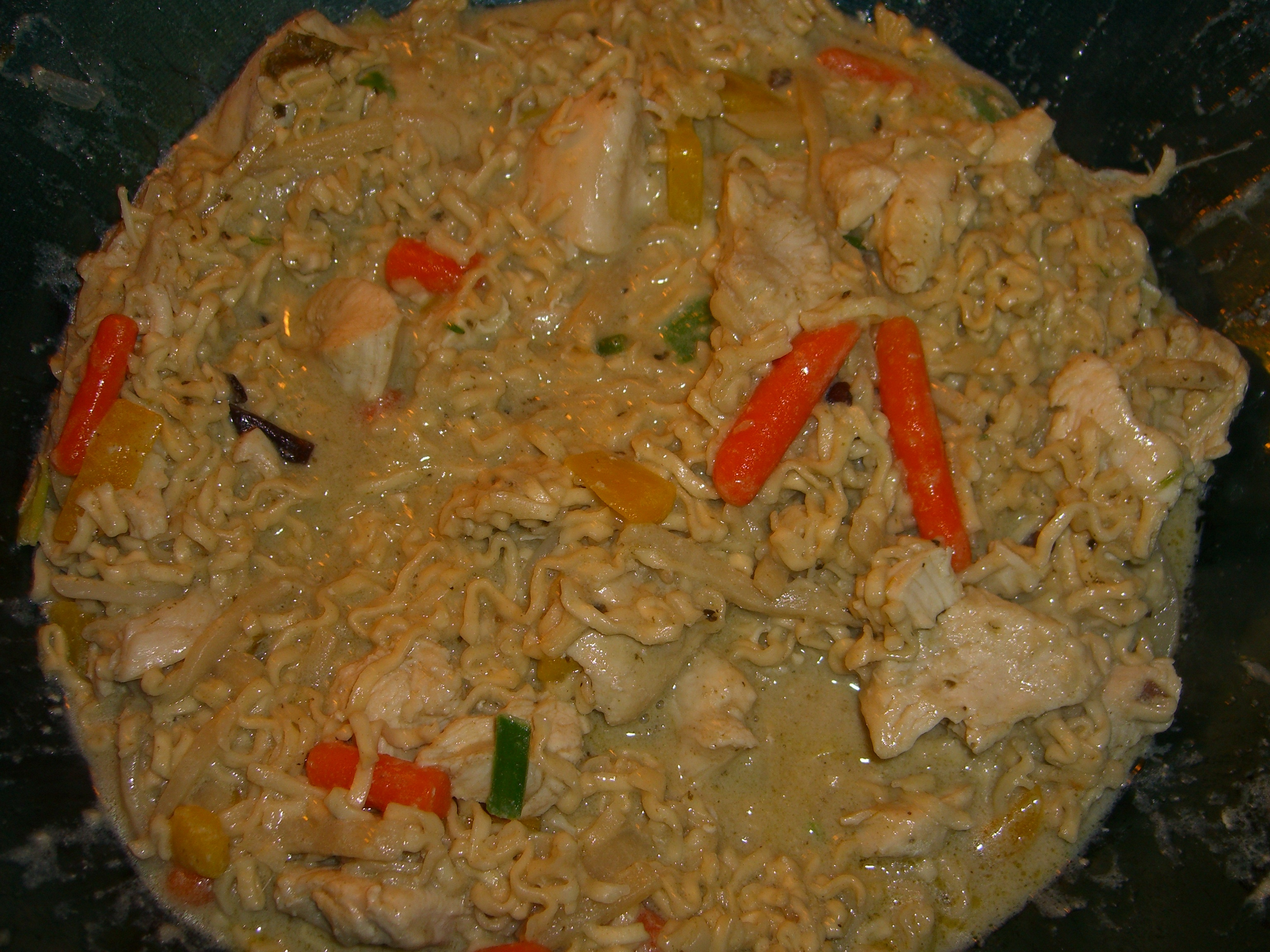 green curry wok