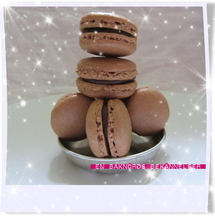 Chokladmacarons
