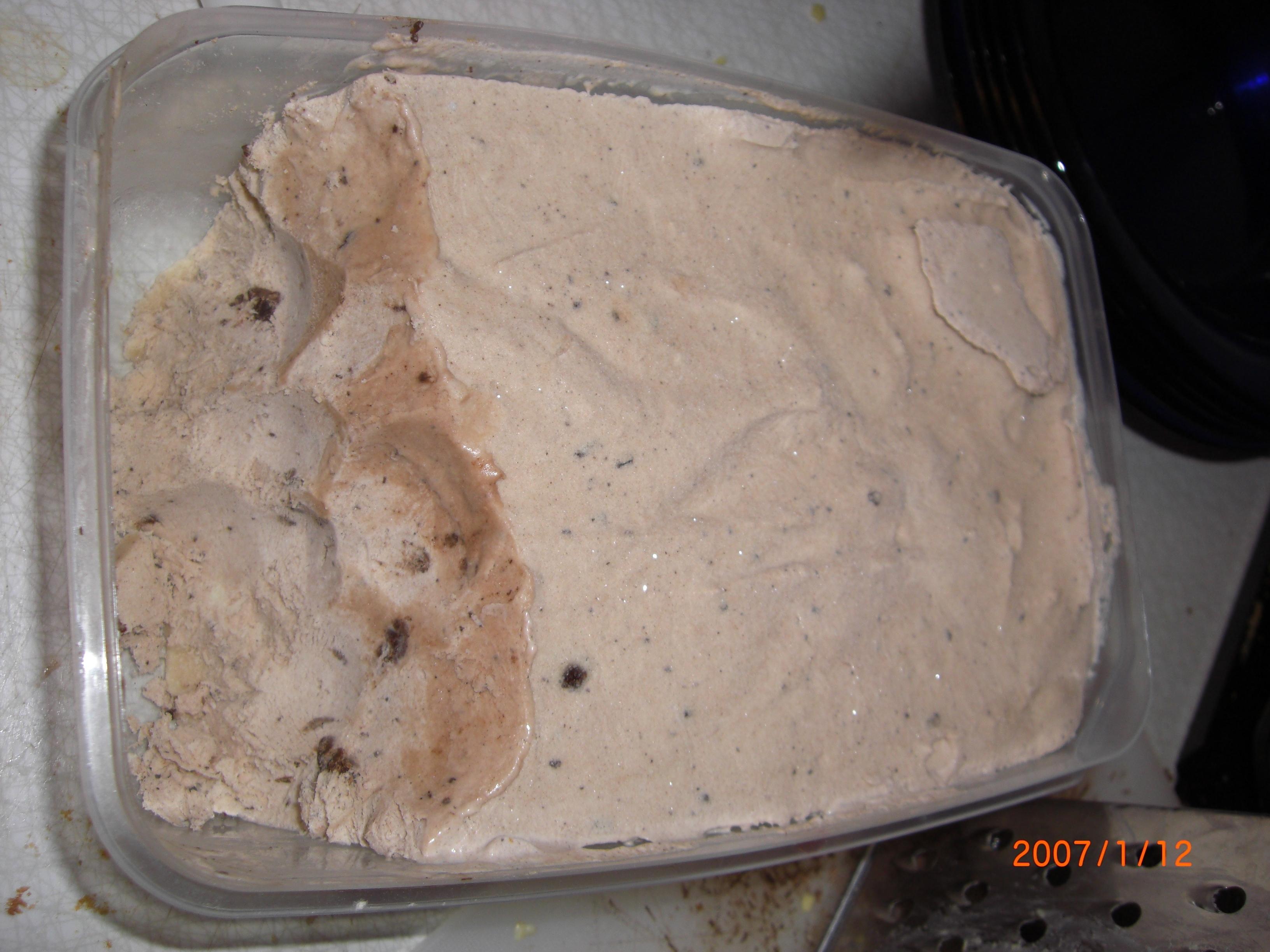 chokladglass