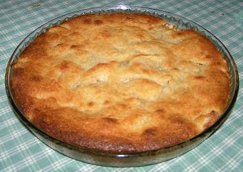 Äppelkaka à la mazarin