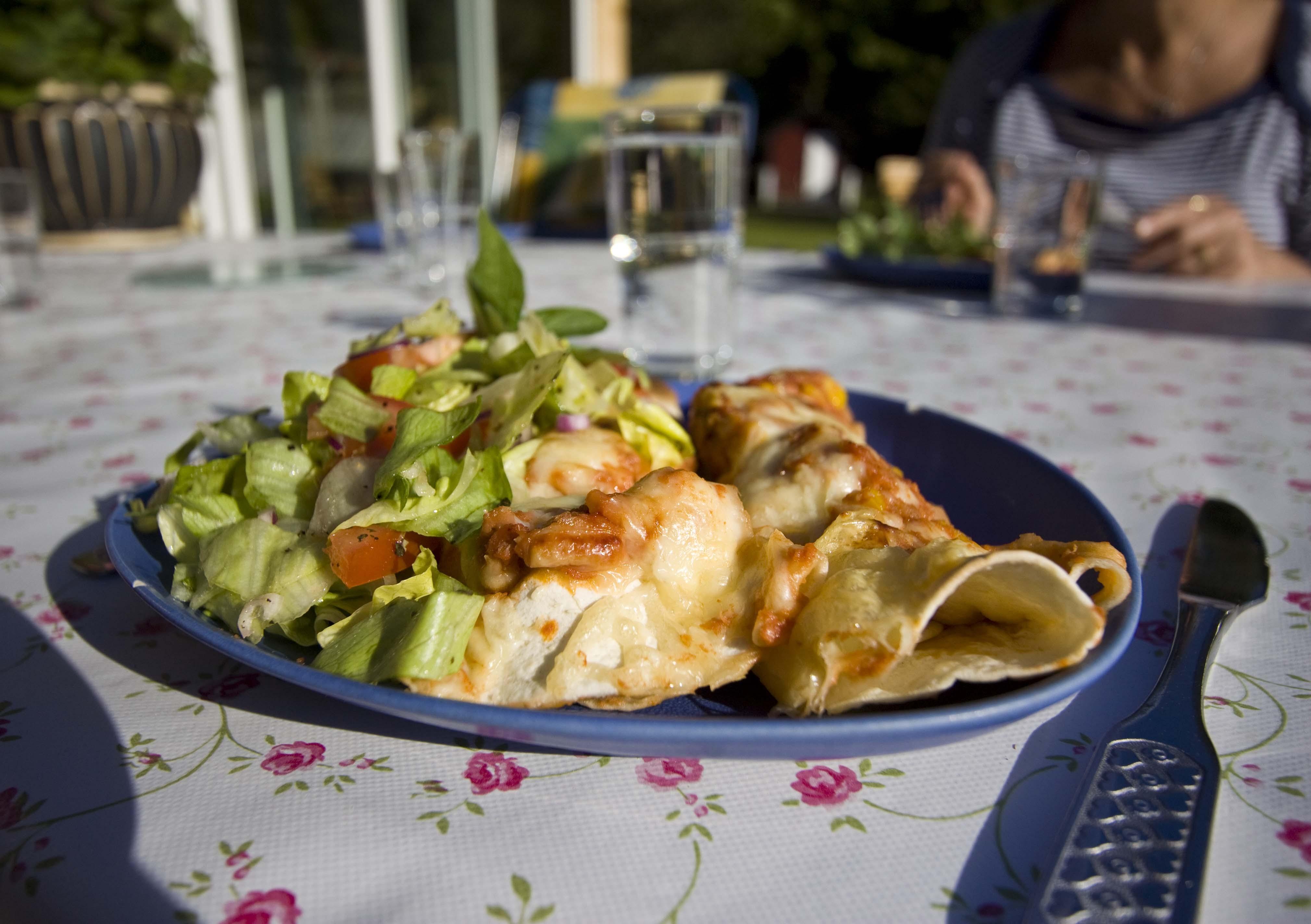 enchiladas med tonfisk