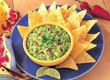 Guacamole på mexikanska