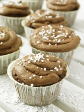 Kanel- & chokladcupcakes