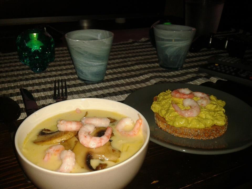 Thai soppa a la..