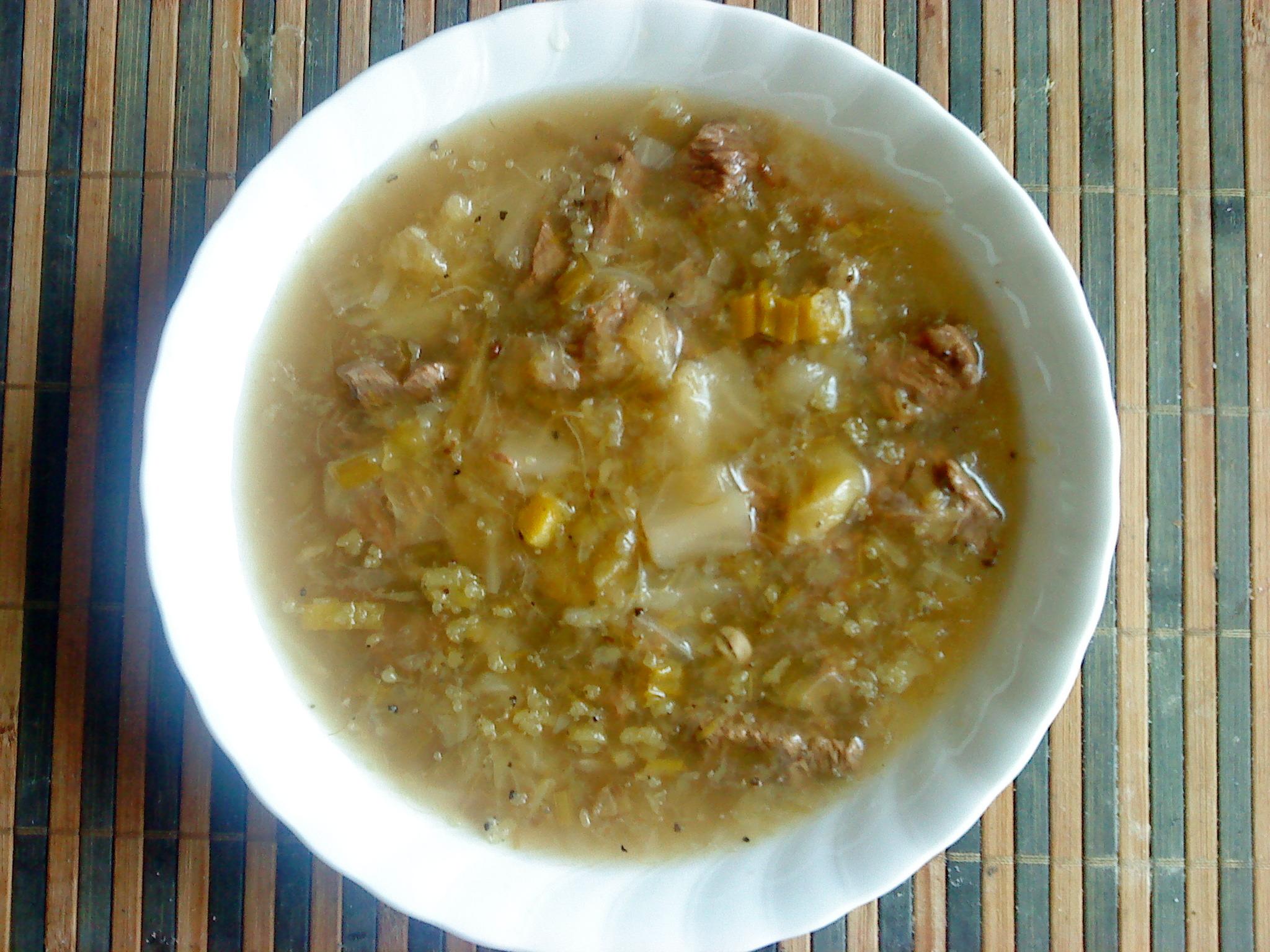 kål soppa
