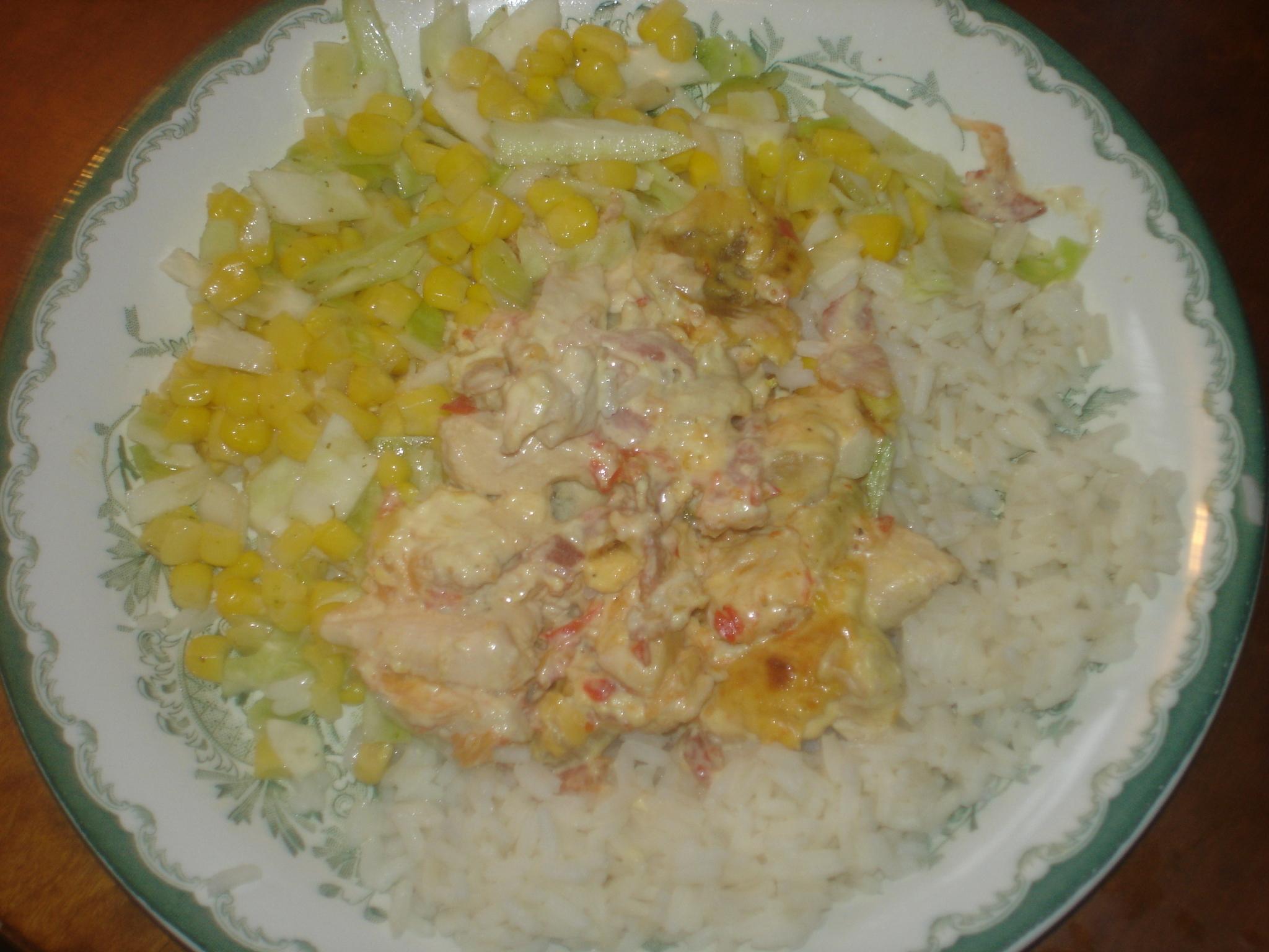 Kyckling gratäng med philadelfiaost