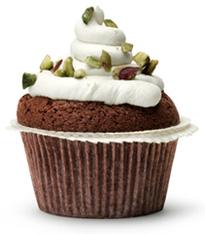 Cupcakes med choklad och pistasch