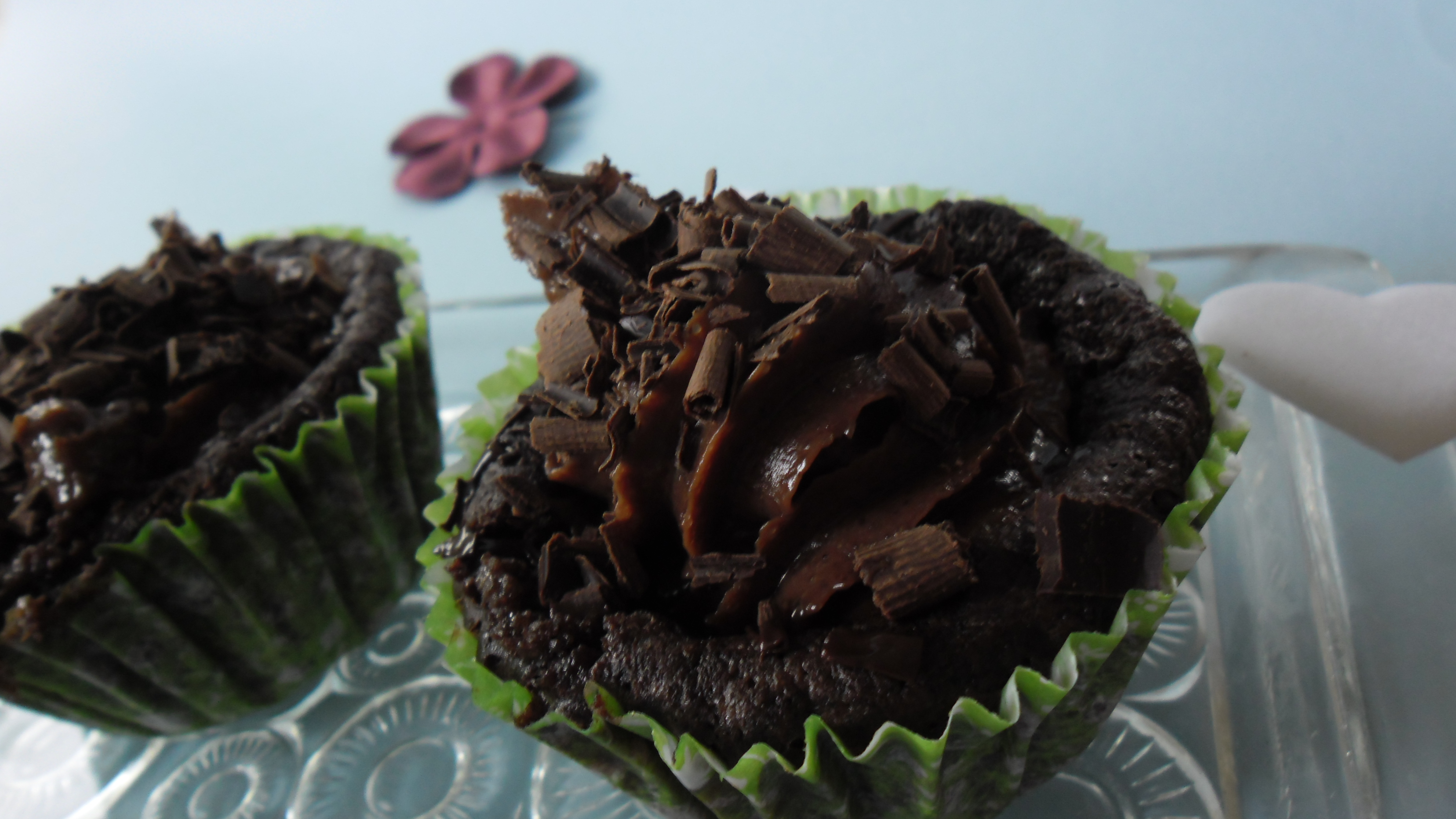 nyttiga chokladmuffins