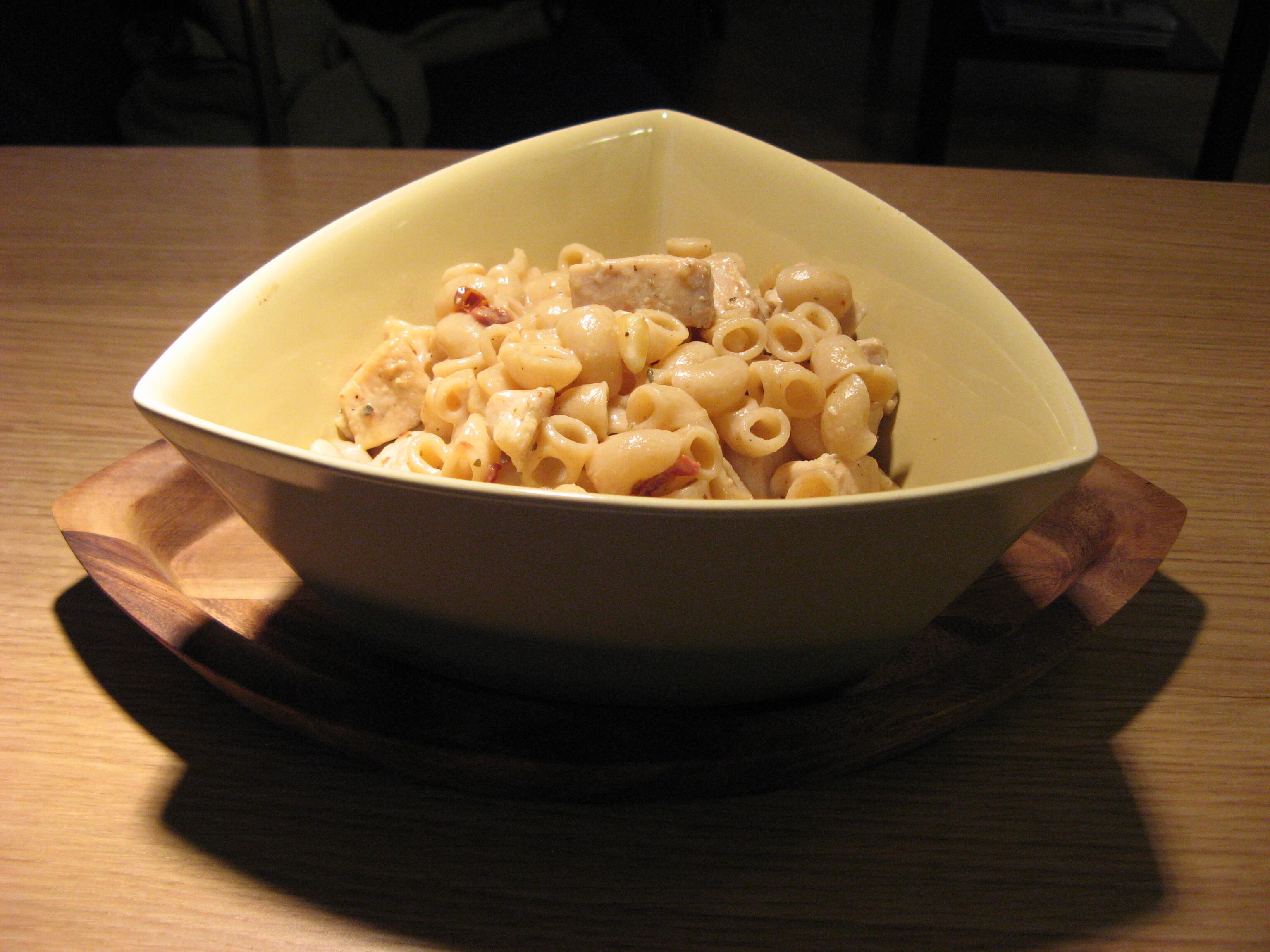 pastasås kyckling creme fraiche