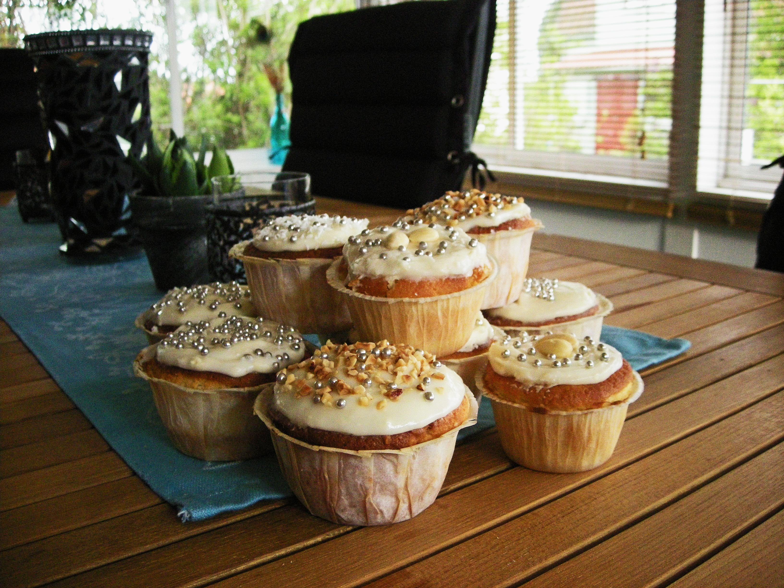 Cupcakes med variation