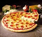 lättbakad pizza