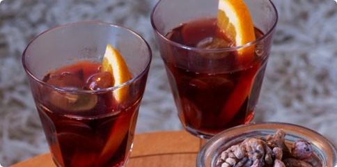 svartvinbärs dryck