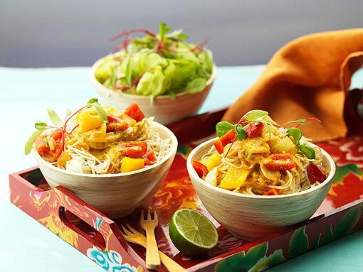 Thai red curry vegetarisk