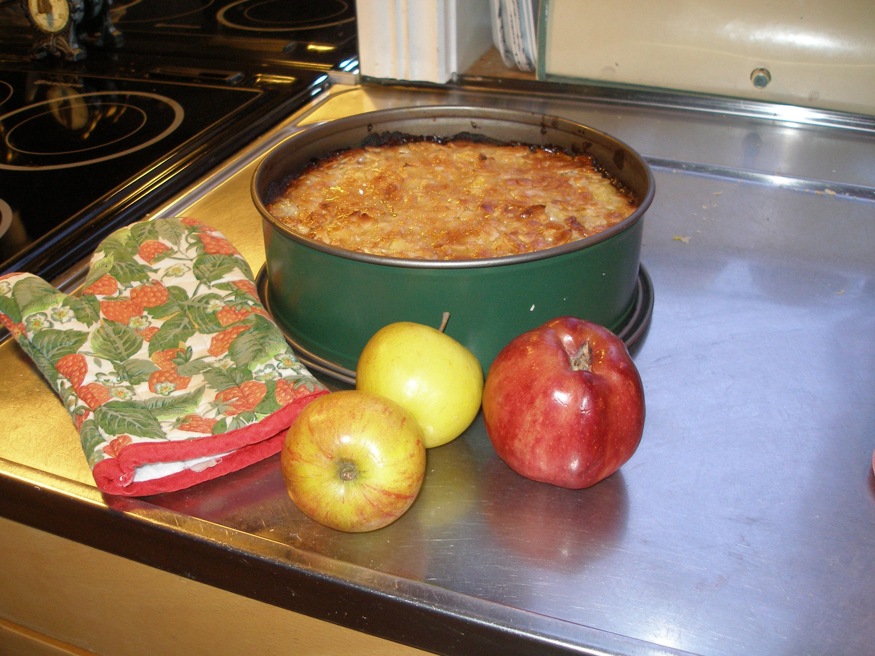 Äppel-toscakaka