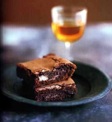 mintchoklad brownies