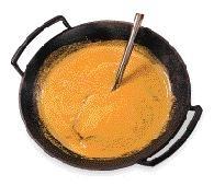 Currysås med smak av Indien