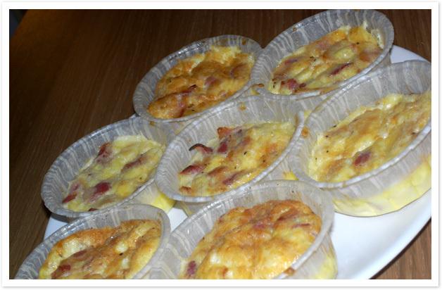 LCHF- Ägg- och baconmuffins