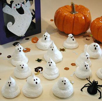 Spökliga halloweenmaränger