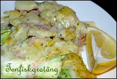 tonfisk potatis hollandaisesås