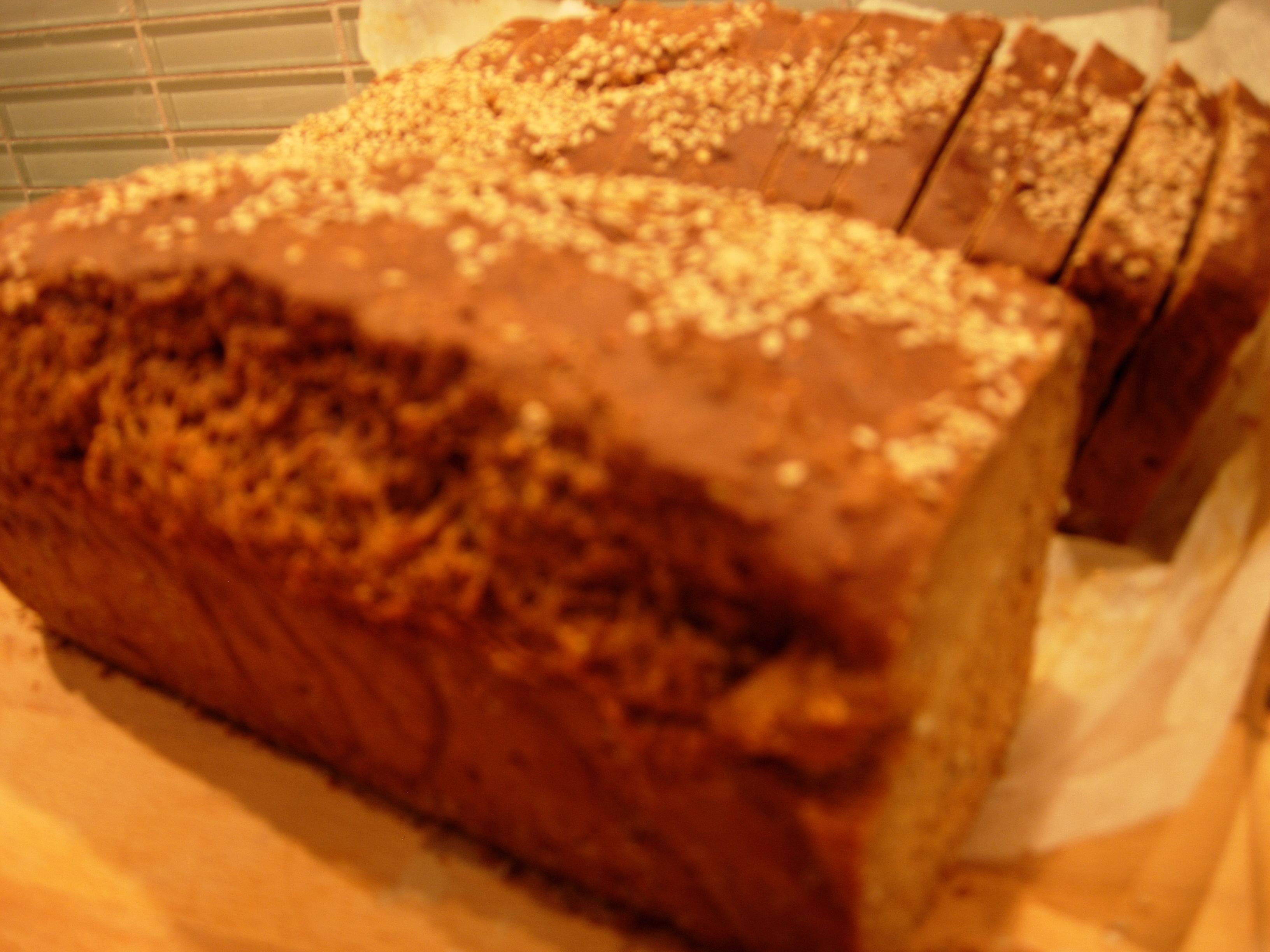 Grovt bröd som ..
