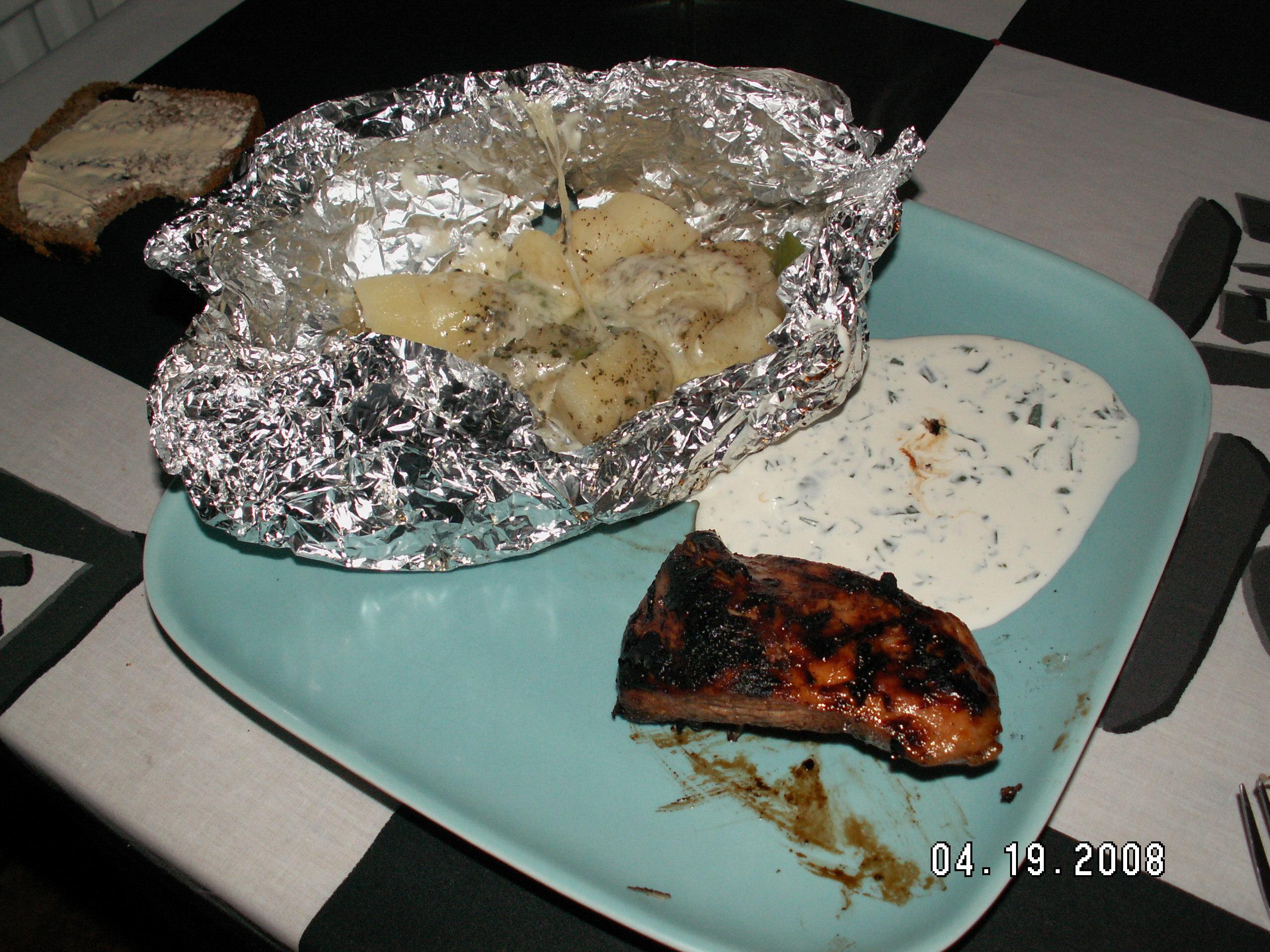 grill knyten