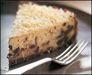 Cheesecake med chokladbitar