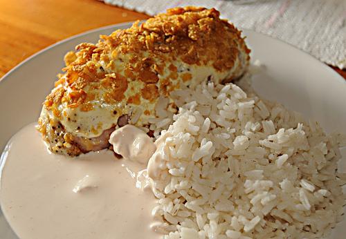 Corn Chicken a ..
