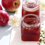 Äpple- och plommonmarmelad