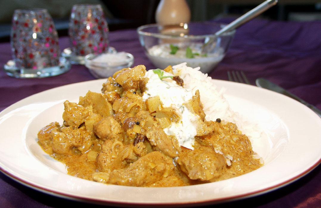 äpple curry