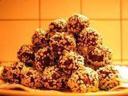 Chokladbollar.