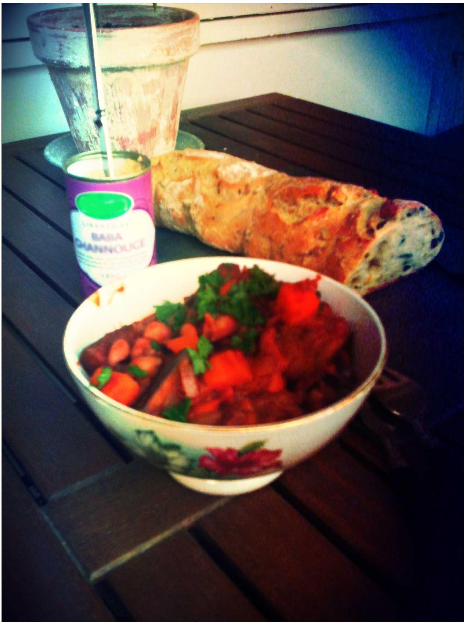 Anna & Bojans vegetariska gryta