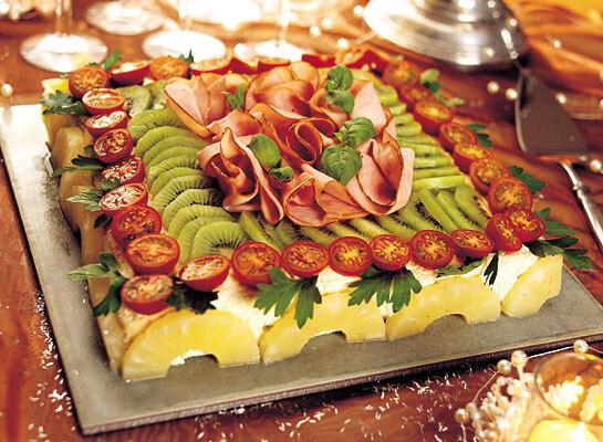 Festlig smörgås..