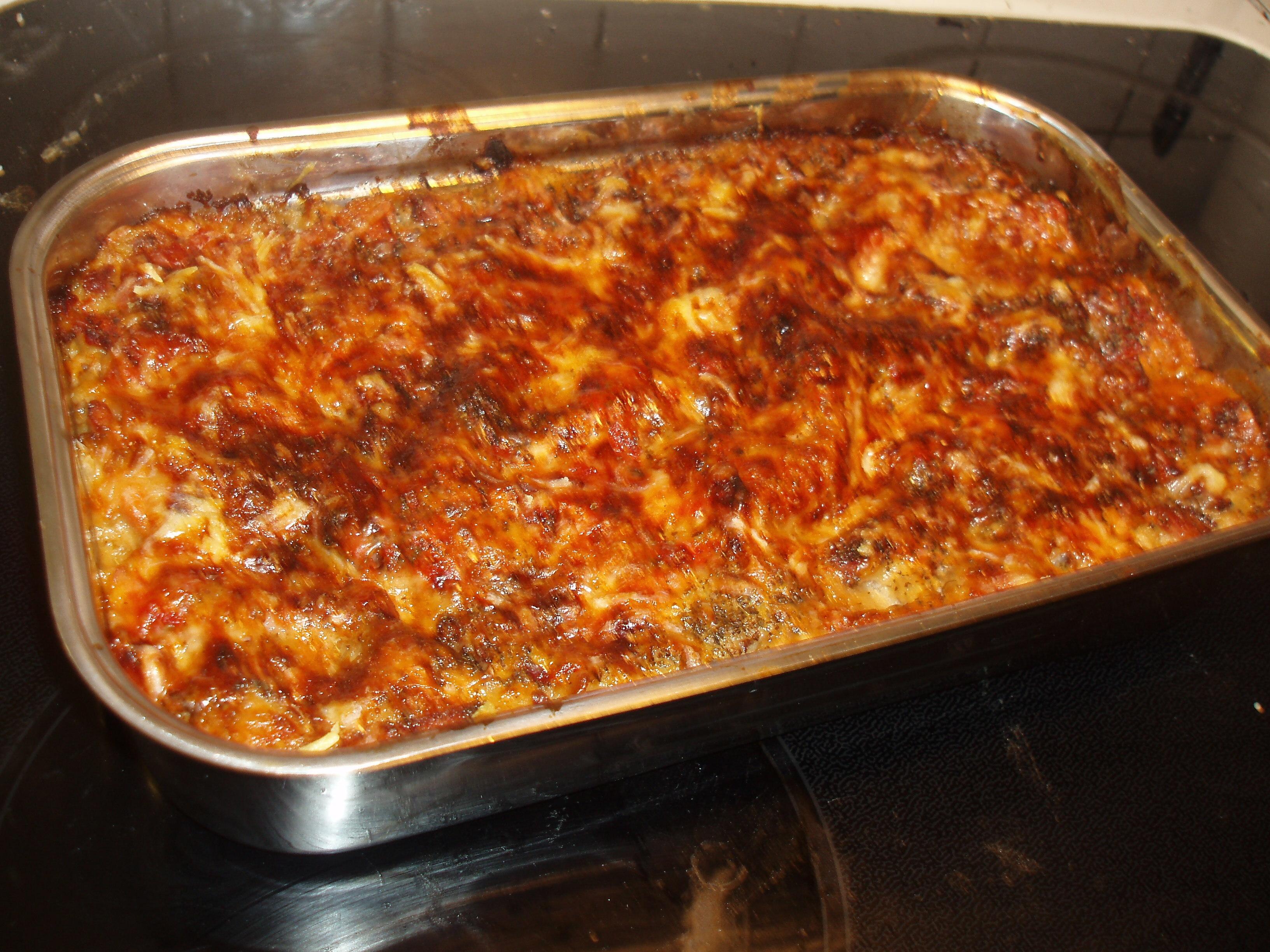 Lätt lasagne..