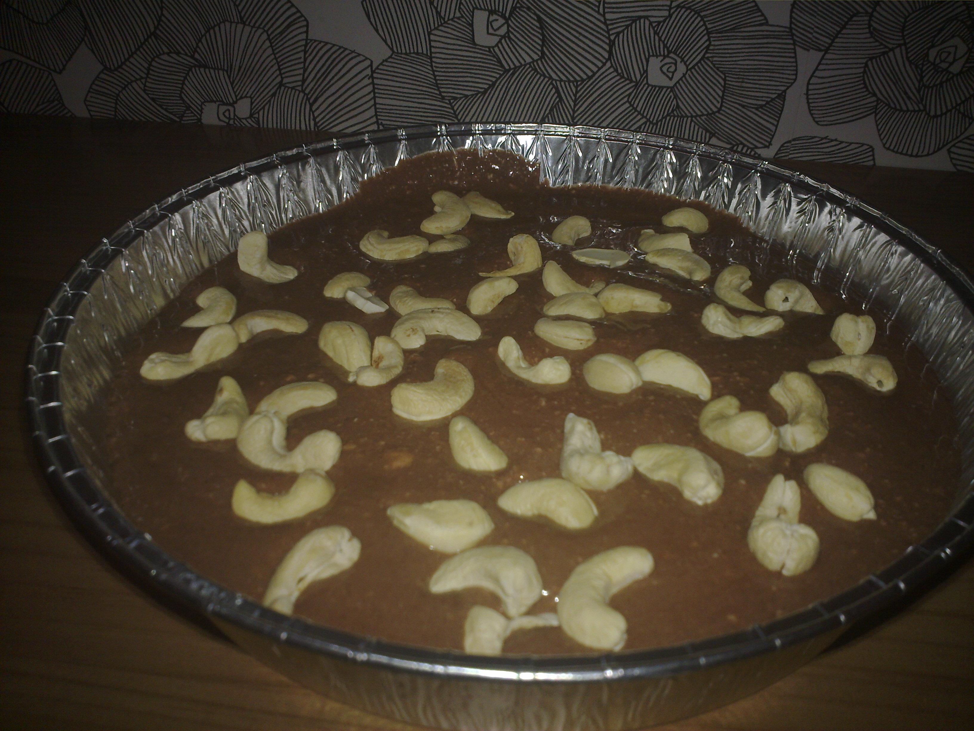 cashewnöt röra