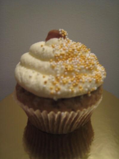 Banoffe cupcakes