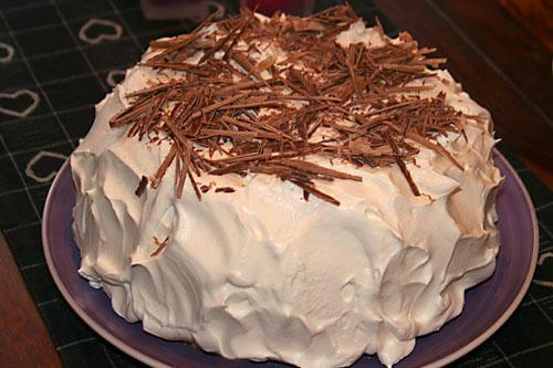 Halfbaked-tårta