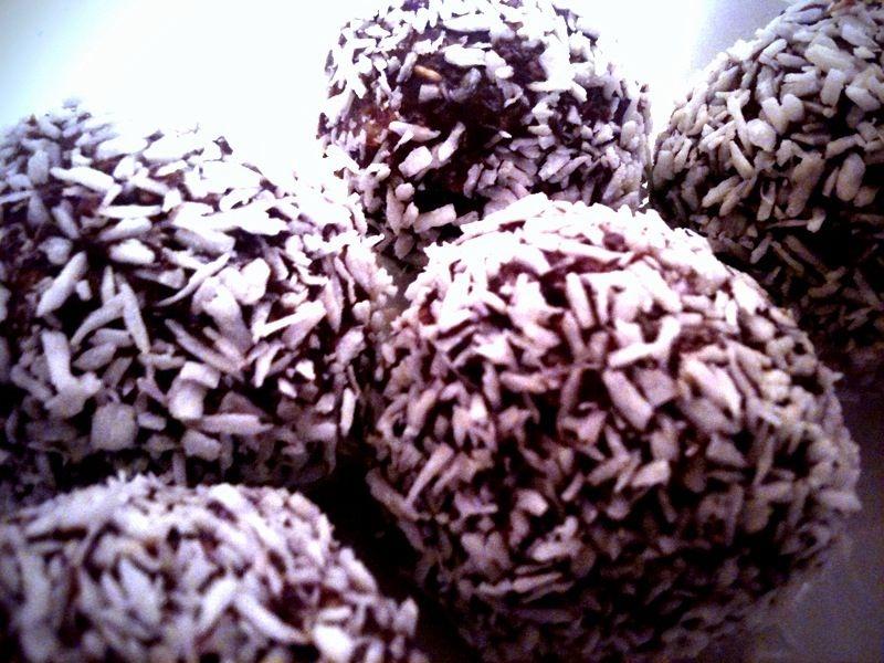 Chokladbollar med touch av nougat