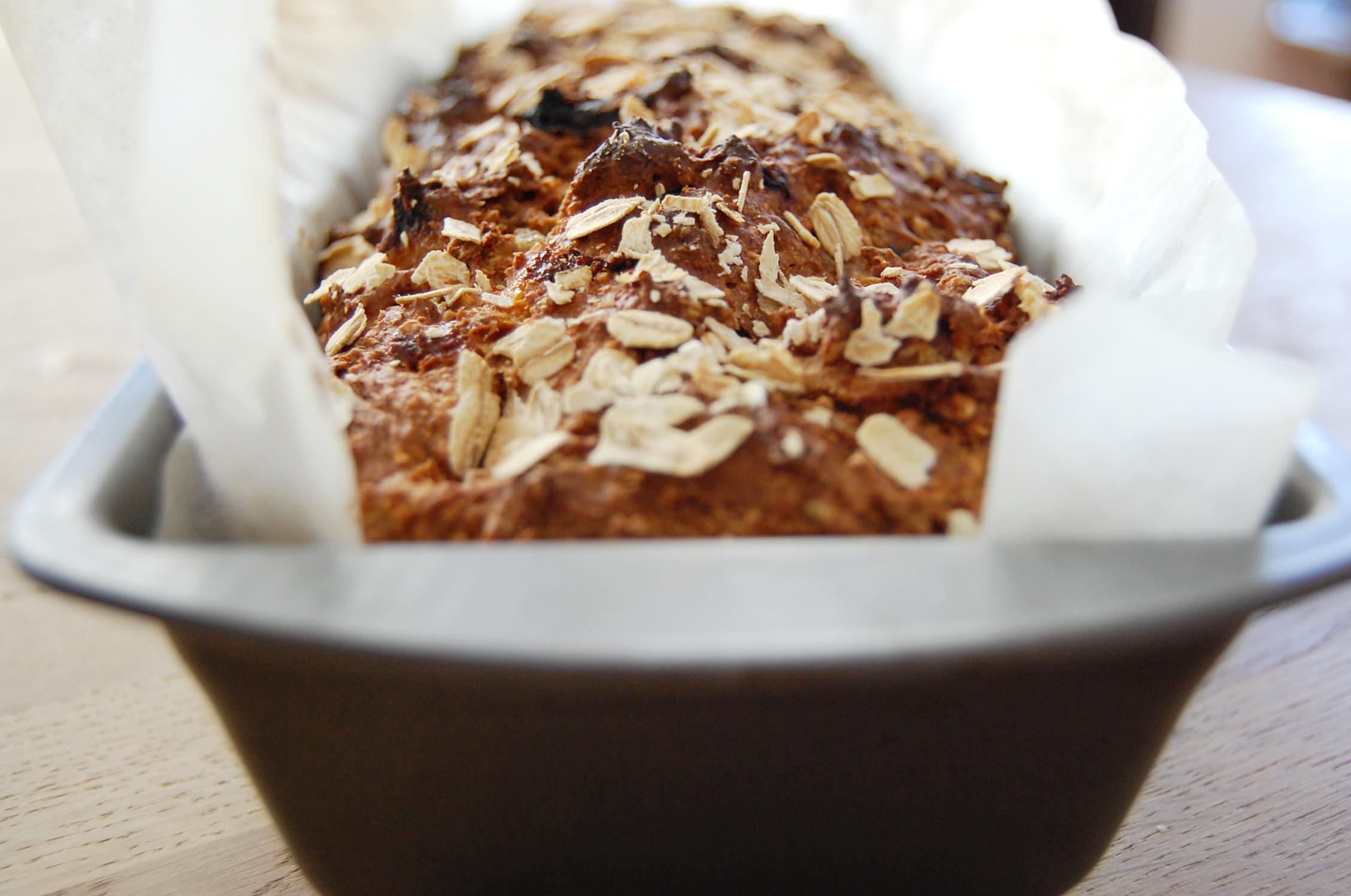 bakpulver bröd grovt