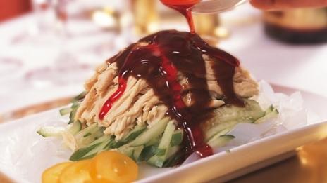 kina mat med kyckling