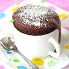 Chokladkaka på 5 min