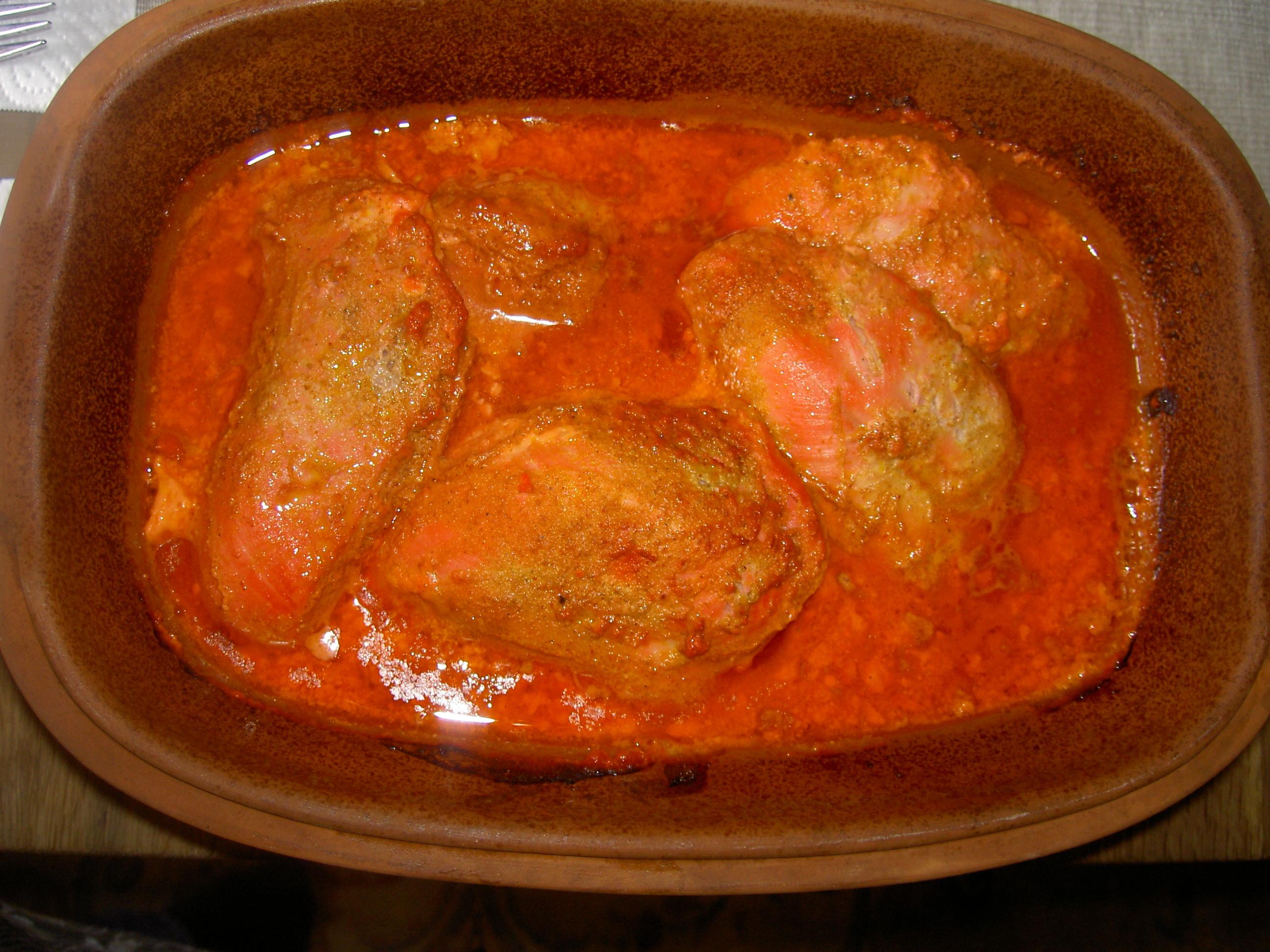 tandoorikyckling marinad
