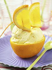 apelsinglass i apelsin