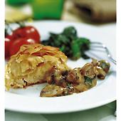 Kycklingfilé i filopaket med smak av västerbotten