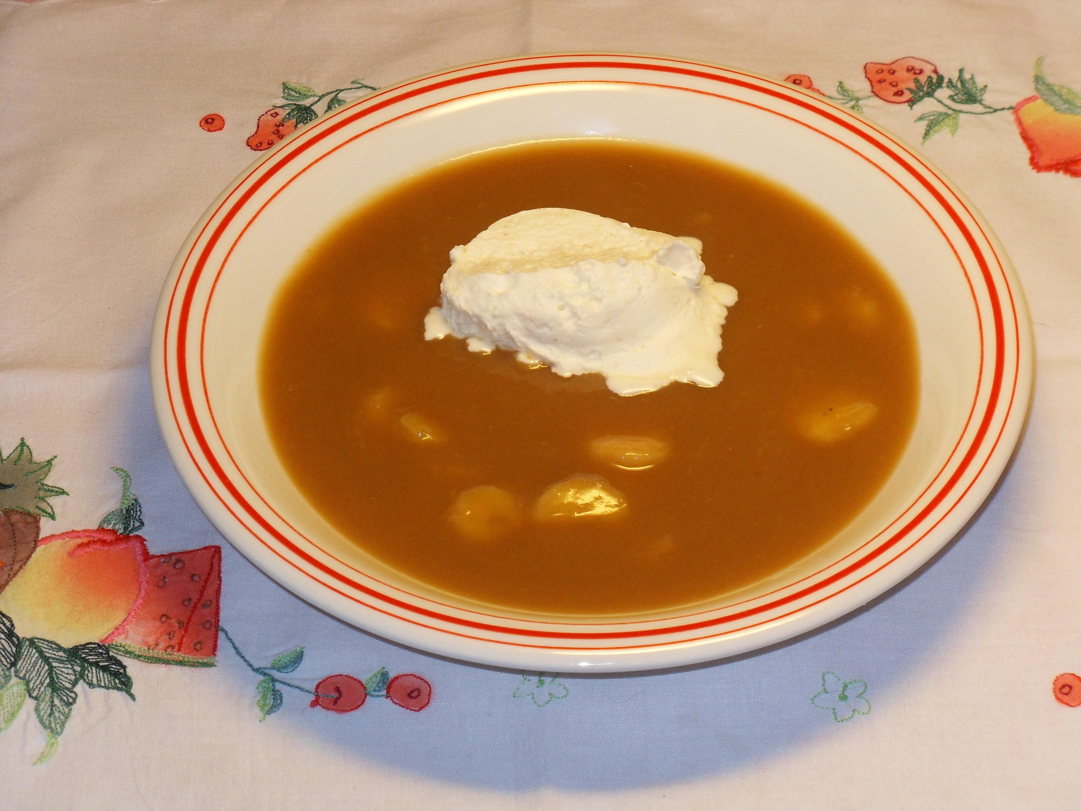 apelsin soppa