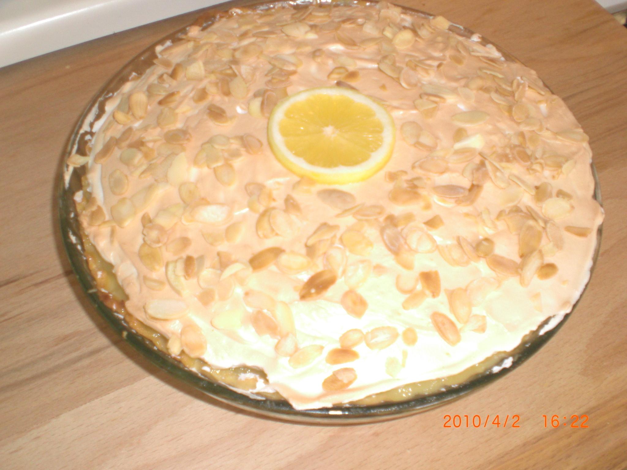 snabb citronpaj