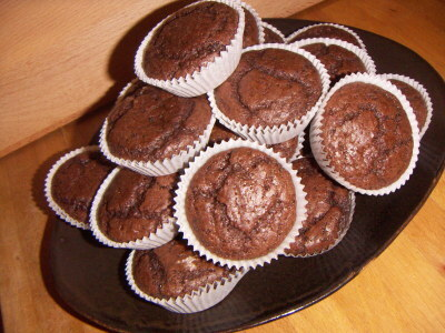 Dianas amerikanska chokladmuffins