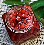 Inkokta rönnbär