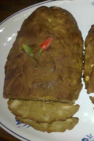 Anjushkas vegetariska köttlimpa med Chili och franska örter
