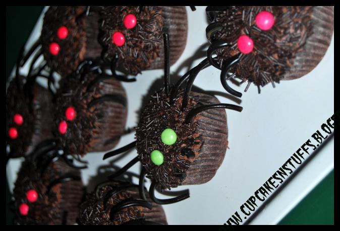 spindel cupcakes
